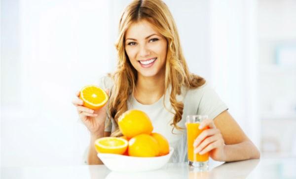 Dieta basada en el consumo de vitaminas C